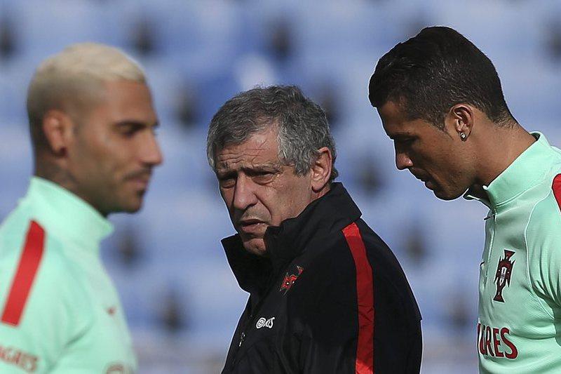 """Fernando Santos: """"Eu tenho um objetivo que é chegar à final e ganhá-la"""""""