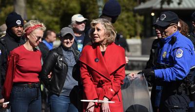 Jane Fonda quer ser detida todas as semanas durante quatro meses