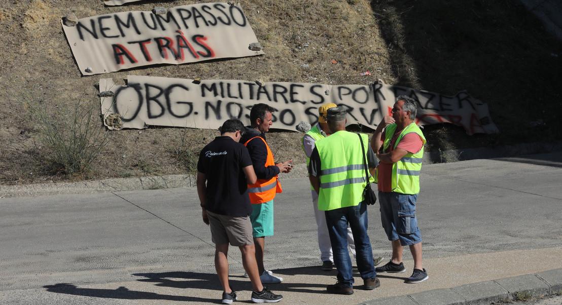 Motoristas grevistas em Aveiras admitem cansaço e desilusão pela falta de acordo