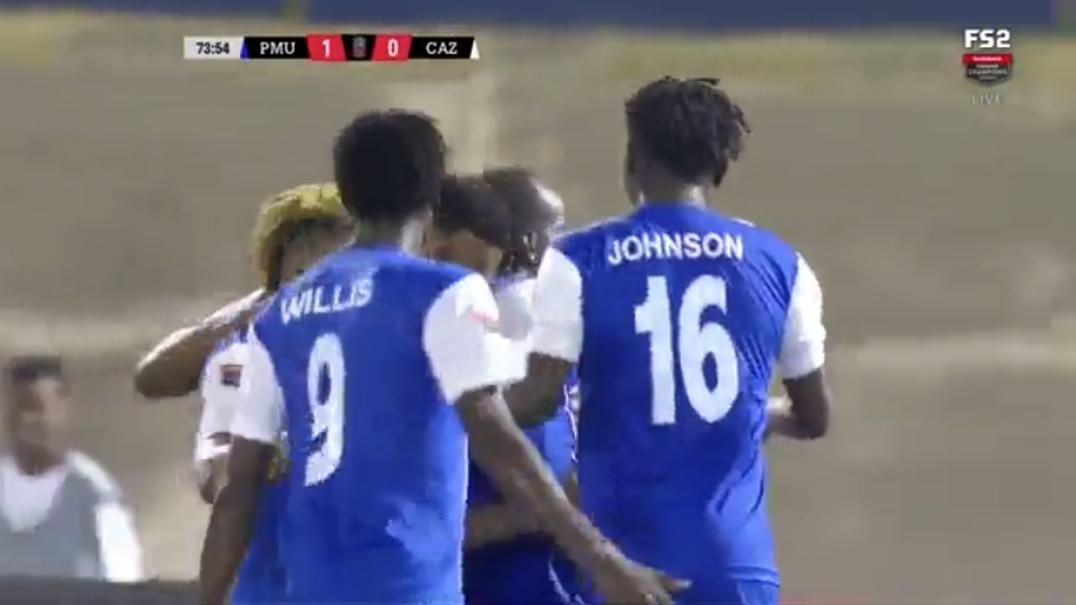 O fantástico golo que nos chega da Liga dos Campeões... da CONCACAF