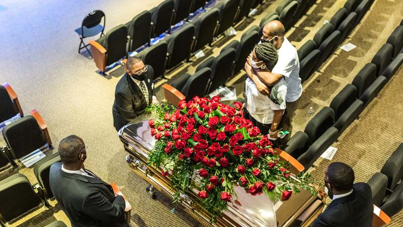 O adeus a George Floyd, o homem cuja morte mudou os EUA