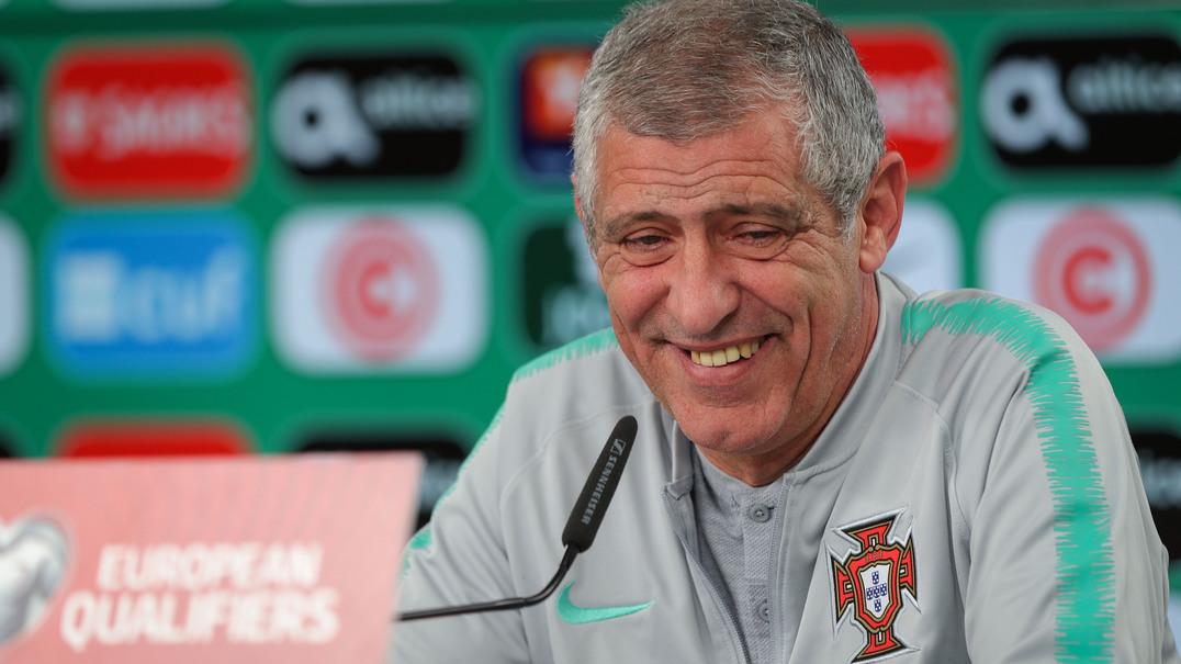 """Fernando Santos: """"Não é por dois empates que vou deixar de confiar nos meus jogadores"""""""