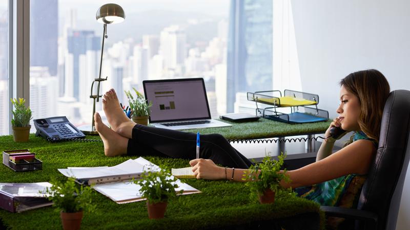 Gostava de trabalhar descalço? É só umas das vantagens de trabalhar em Silicon Valley