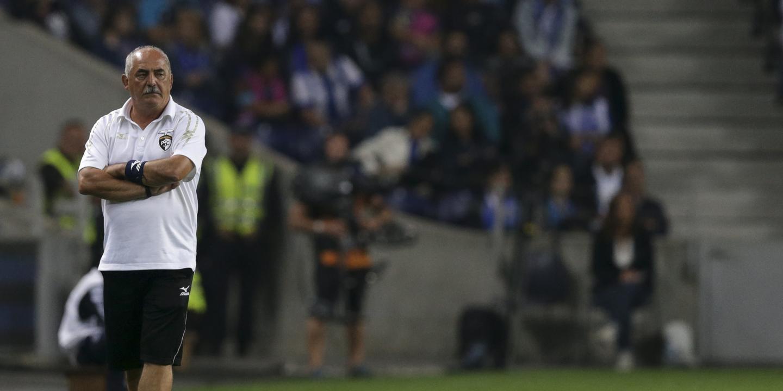 """Vítor Oliveira: """"Não estávamos habituados a ver uma equipa como o FC Porto nos últimos anos em Portugal"""""""