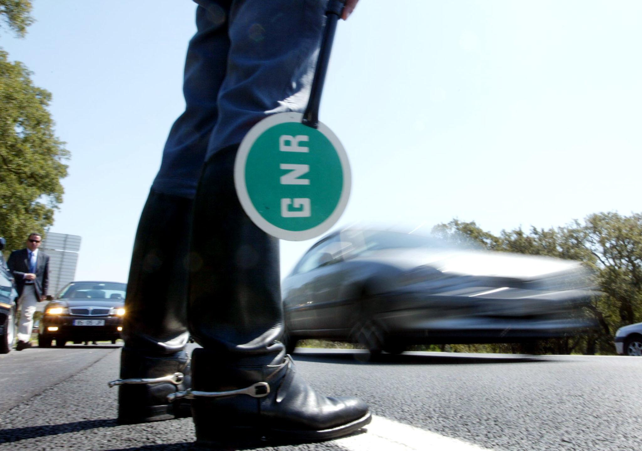 GNR deteta mais de mil infrações em 24 horas. Mais de 600 foram por excesso de velocidade