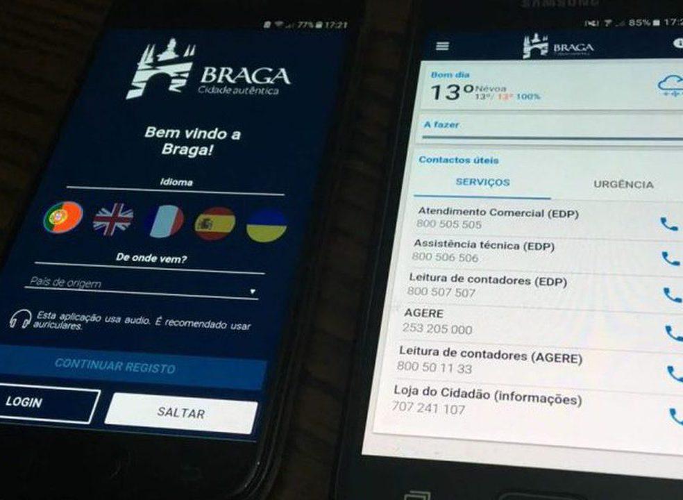 Braga cria app para ajudar na integração de estrangeiros