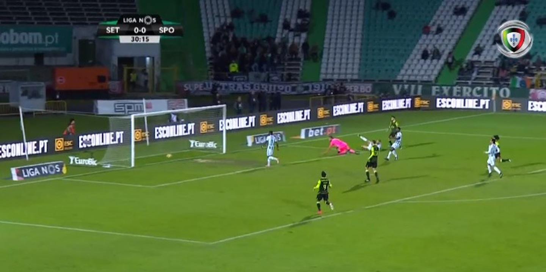 VÍDEO: Veja o golo de Bruno Fernandes que inaugurou o marcador no estádio do Bonfim