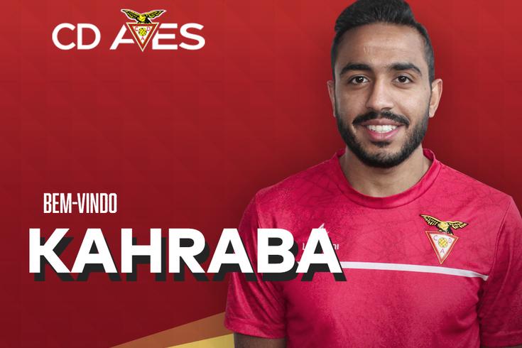 Mahmoud Kahraba estreia-se nos convocados do Aves