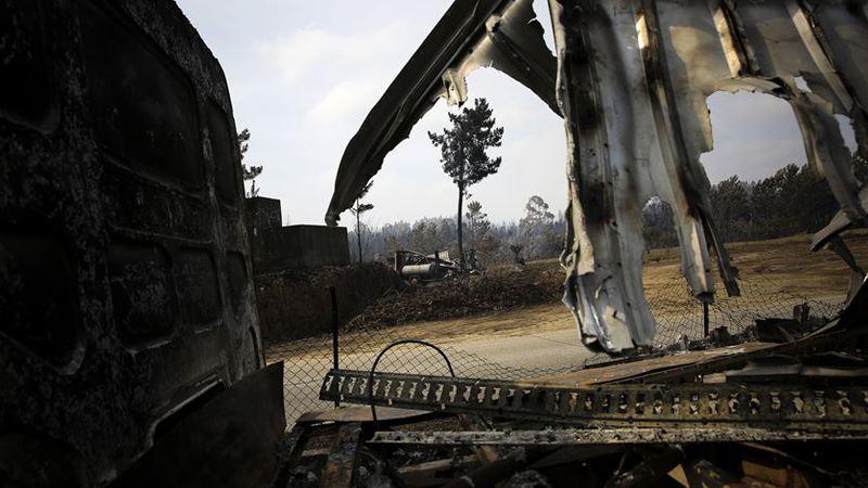 """Reportagem: Do terror do fogo ao medo """"da fome"""""""