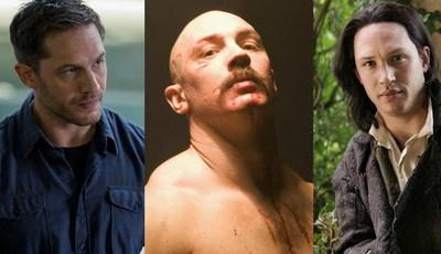 Tom Hardy é Venom: conhece as muitas caras (e corpos) do ator?