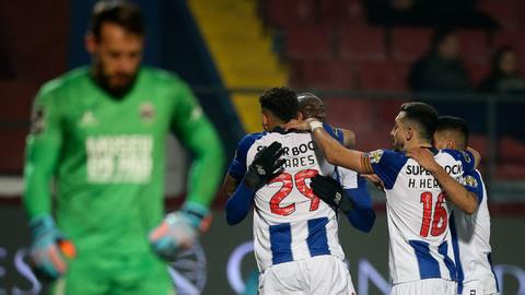 Vídeos: Veja os cinco golos do Desportivo de Chaves-FC Porto