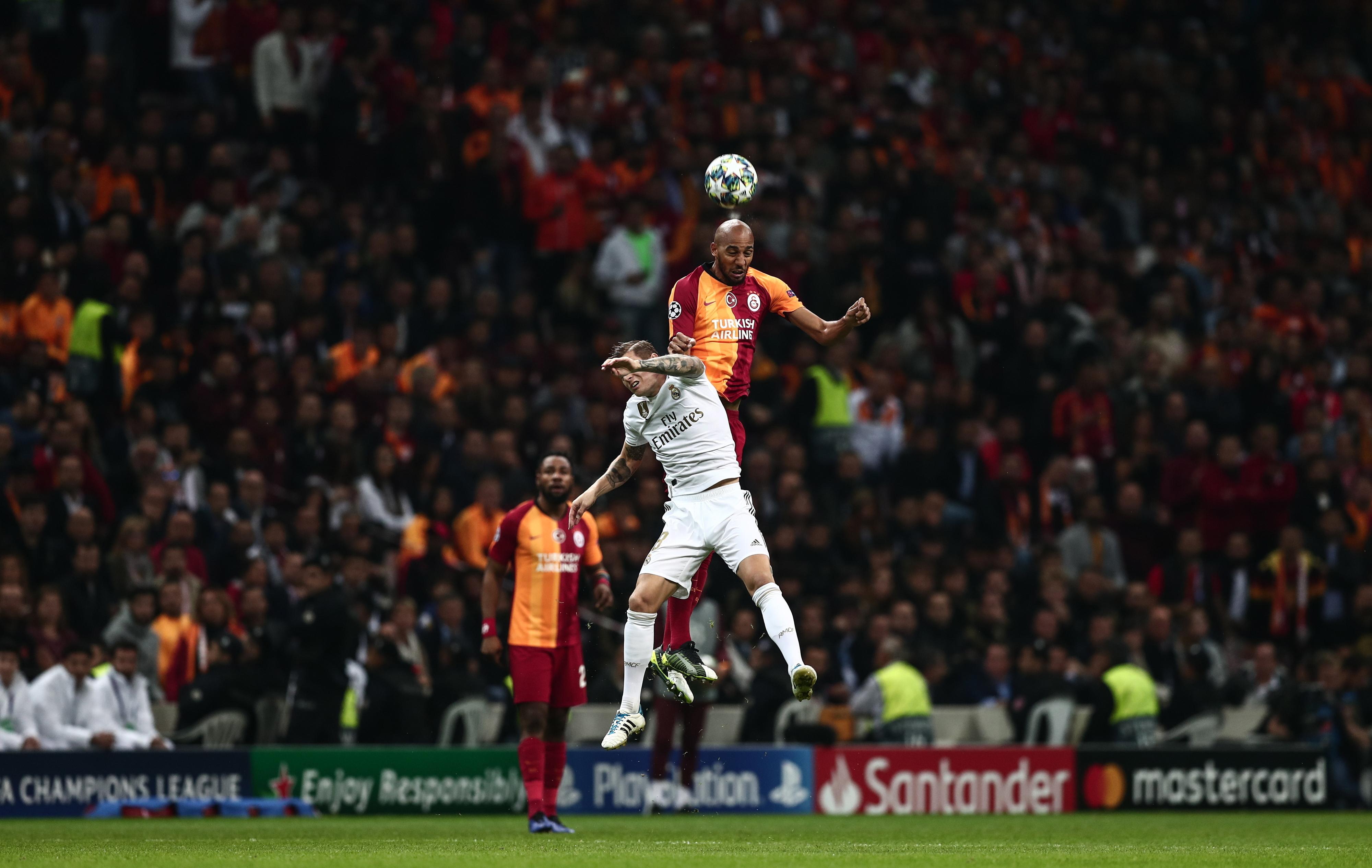 Futebolista Steven Nzonzi suspenso pelo Galatasaray por comportamento inapropriado