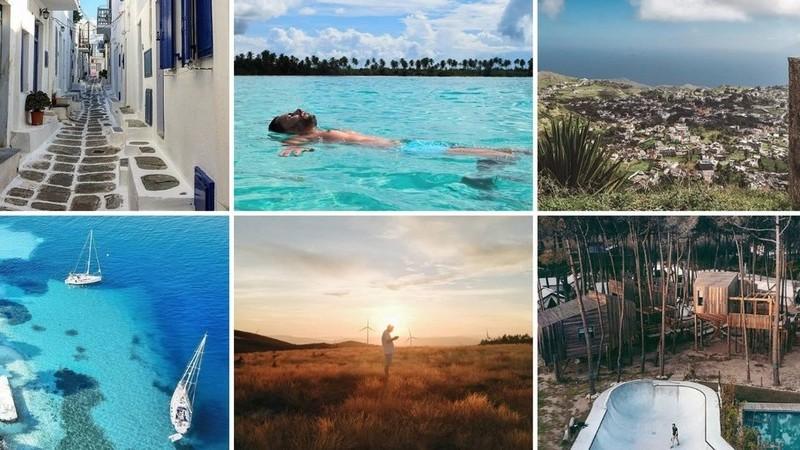 Viagens de Instagram: em algum lugar do mundo é sempre verão