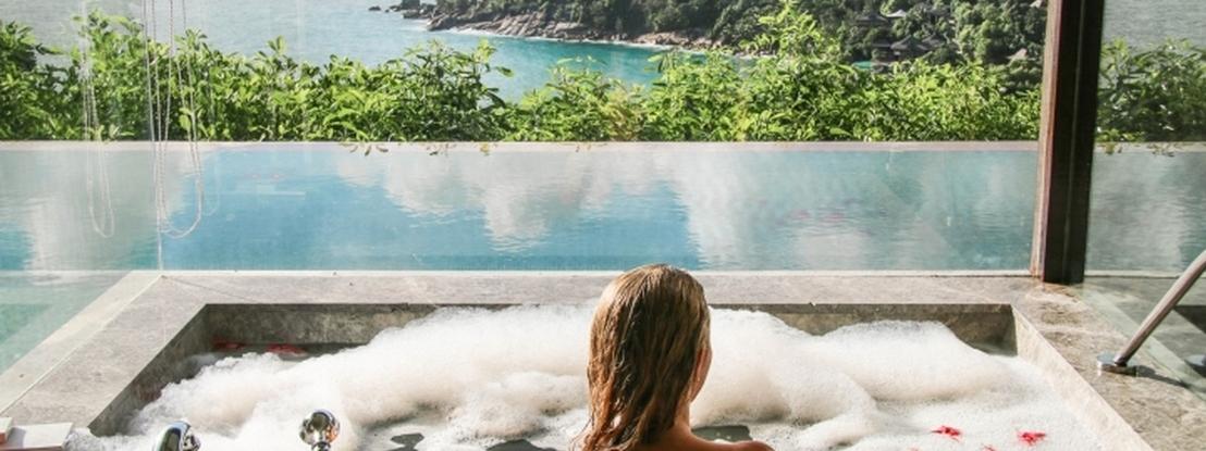16 banheiras ao redor do mundo com vistas deslumbrantes