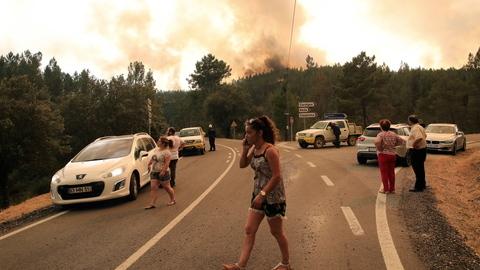 União Europeia ativa satélite Copernicus para auxiliar Portugal nos incêndios