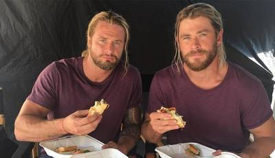 Chris Hemsworth: ser duplo do ator não é um mar de rosas