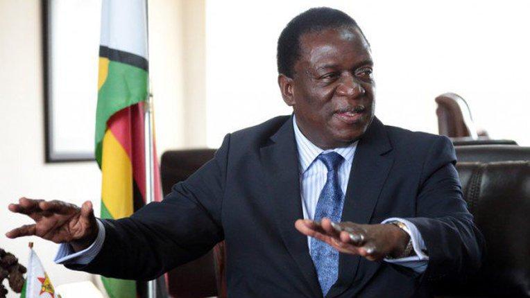 Partido no poder indica Emmerson Mnangagwa para presidenciais no Zimbabué