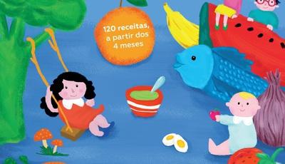 Um livro para ajudar os pais no percurso alimentar do bebé a partir dos 4 meses