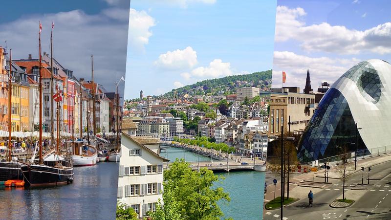 Estas são as cidades com melhor qualidade de vida da Europa
