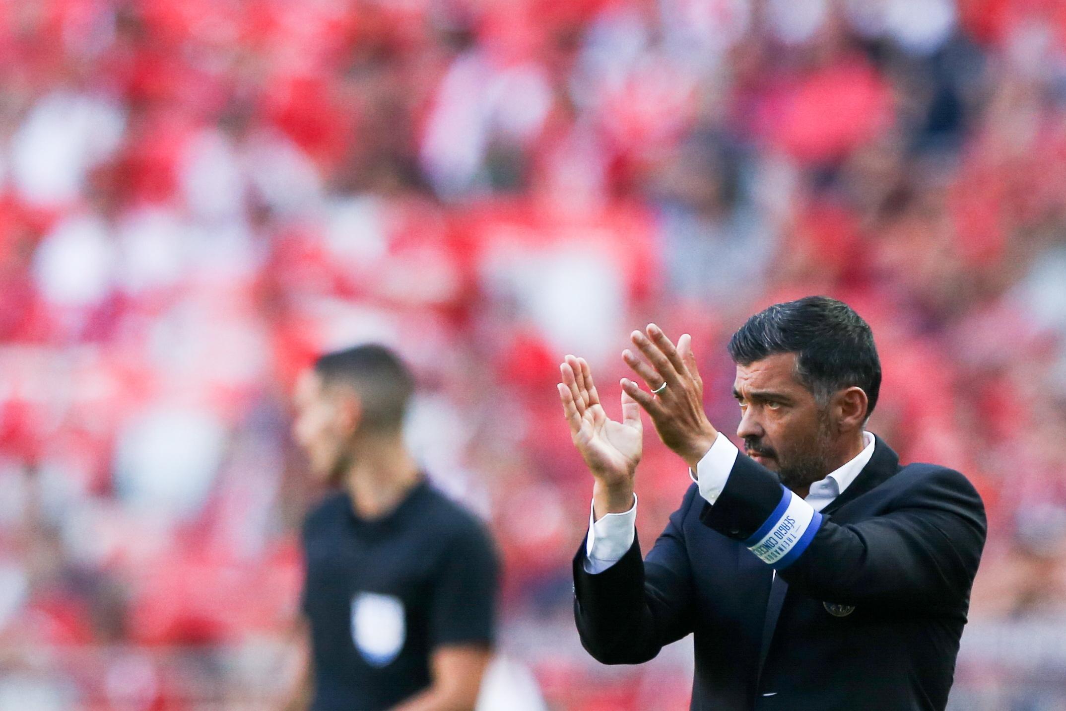 """Sérgio Conceição: """"Há umas semanas quando perdemos era o mesmo treinador, não mudou nada"""""""