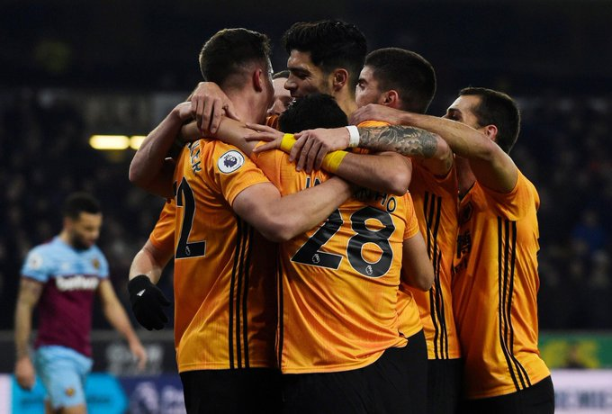 Wolverhampton de NES vence com assistências de Moutinho e de Pedro Neto