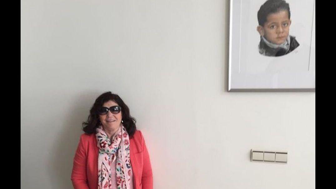 Dolores Aveiro já está em Madrid com os gémeos