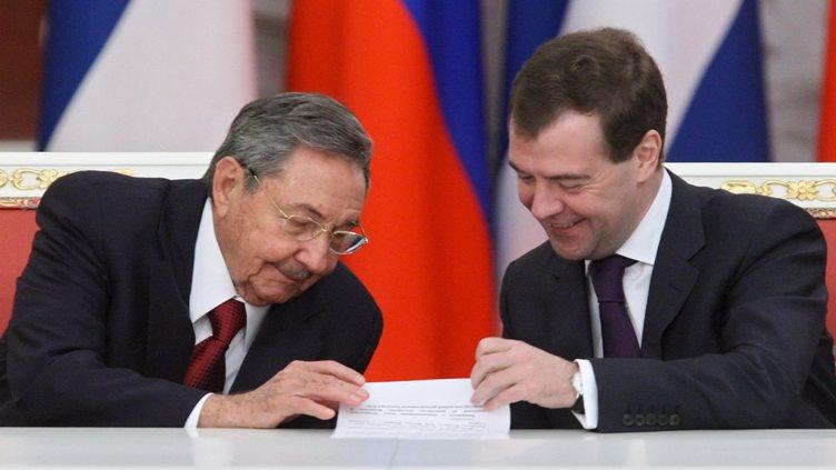 Raul Castro na Russia