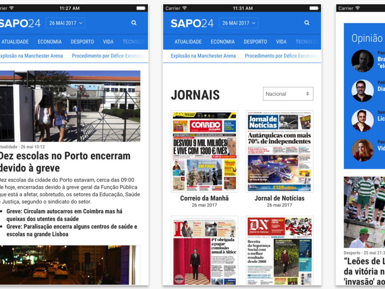 App do SAPO 24: Porque o seu tempo é precioso