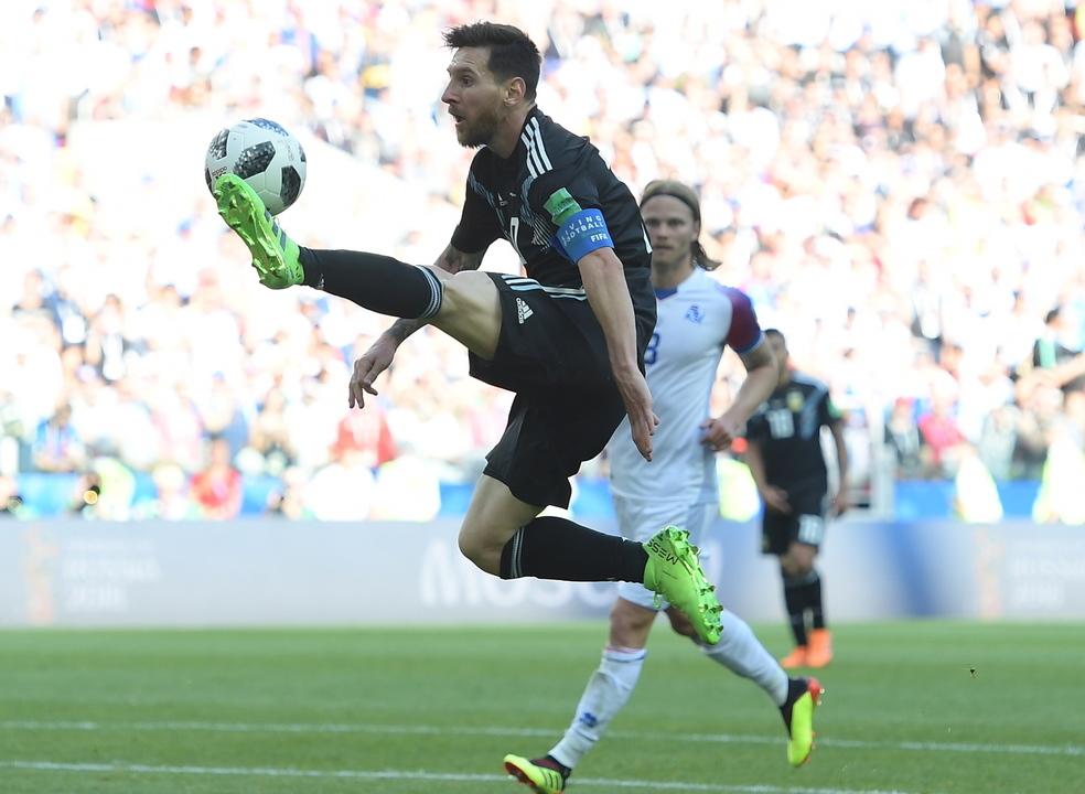Mundial2018: Messi, Otamendi, Etebo e Herrera entre melhores jogadores da 1.ª jornada nas várias variáveis