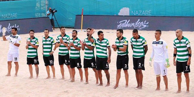 Sporting volta a perder e falha final do Mundialito de futebol de praia