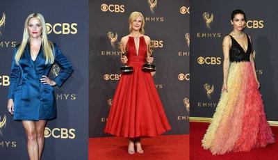 O estilo dos famosos no Emmy Awards 2017
