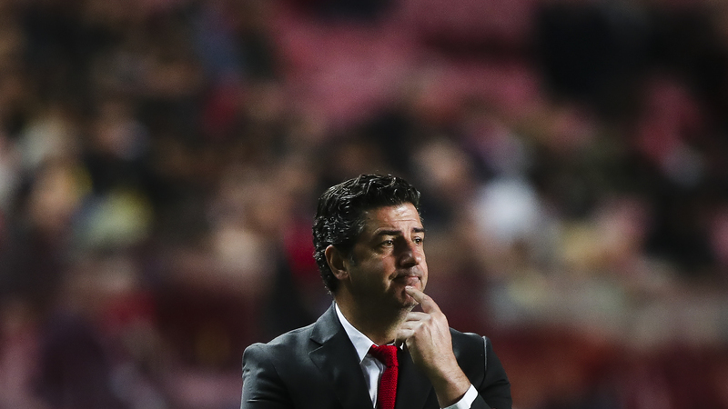 """Rui Vitória: """"Espero um jogo difícil. As equipas que jogam contra nós têm sempre um acréscimo de motivação"""""""