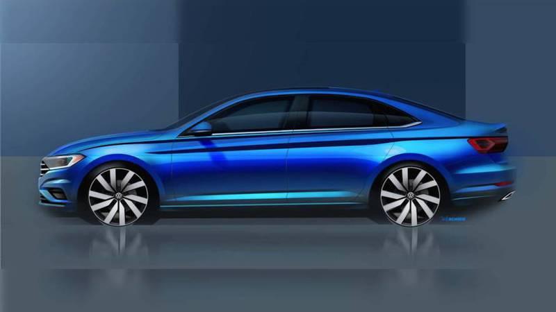 VW antecipa imagem teaser do novo Jetta