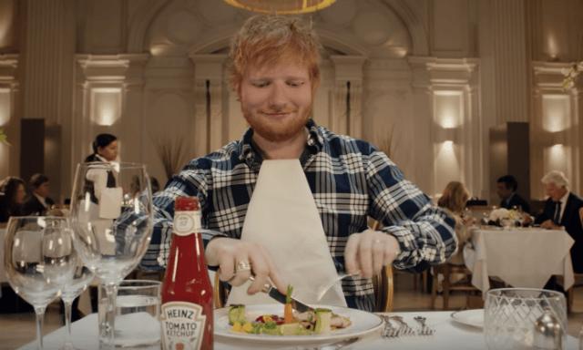 Lembra-se da parceria entre Ed Sheeran e uma marca de ketchup? Agora já pode ver o vídeo