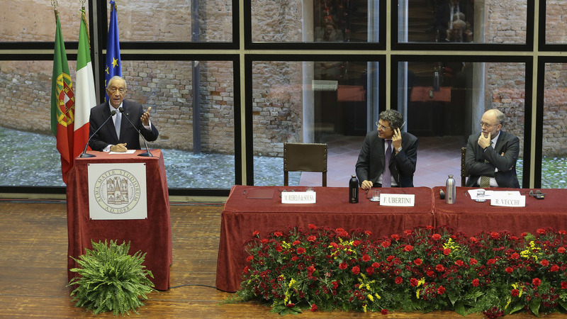 """Marcelo defendeu em Itália alargamento da UE aos Balcãs """"até para evitar explosões a prazo"""""""