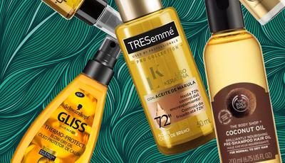 10 óleos abaixo dos 15 euros para todos os tipos de cabelo