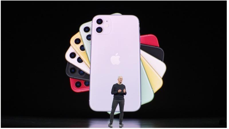 O iPhone 11 Pro Max tem 23% mais capacidade de bateria que a versão Pro