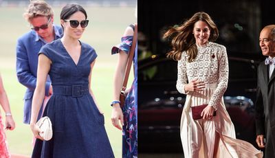 Vestidos ou saias: O truque de Meghan Markle e Kate Middleton para o vento não as 'trair'