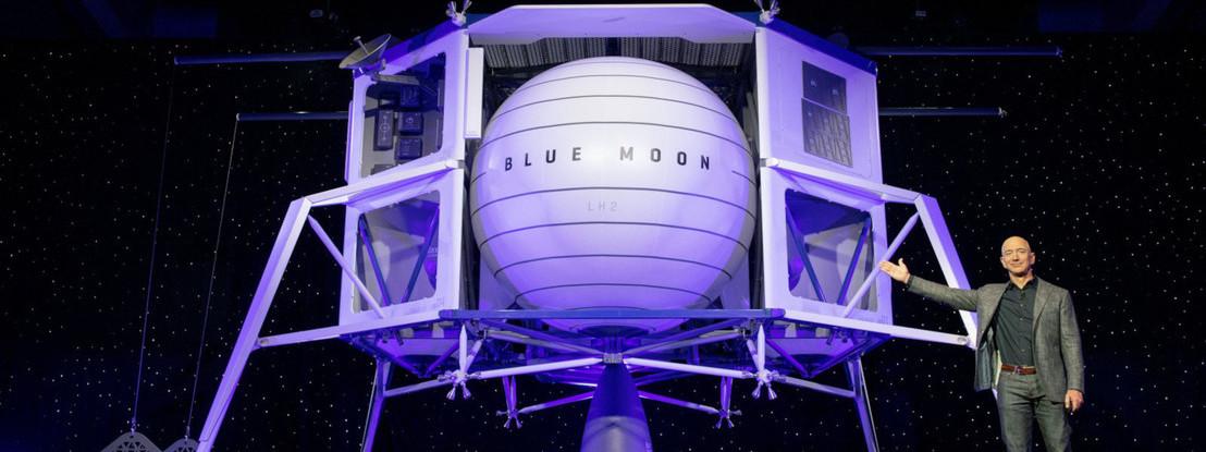 Blue Origin faz parceria com Lockheed Martin, Northdrop e Draper para completar o seu lander lunar