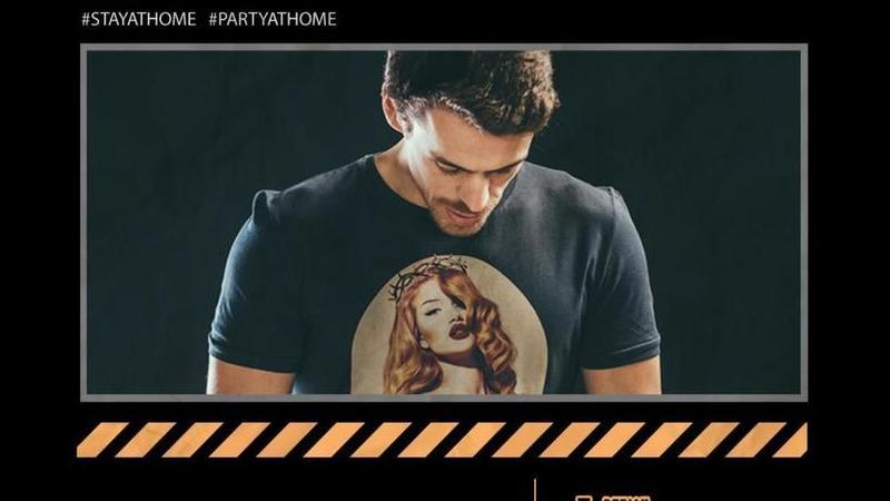 """""""Party At Home"""": aos sábados, Deejay Kamala ajuda a sair à noite... sem sair de casa"""