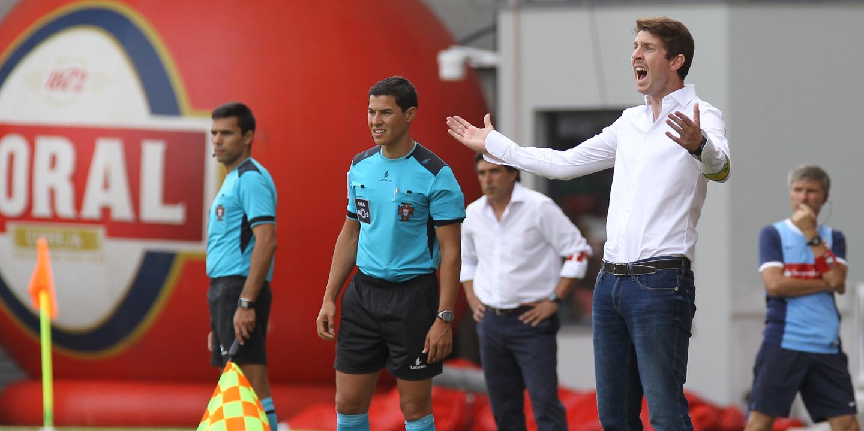 Vasco Seabra não quer ver o Paços Ferreira a correr atrás do resultado