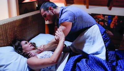 Não perca em 'Alma e Coração': Rodrigo ataca Diana