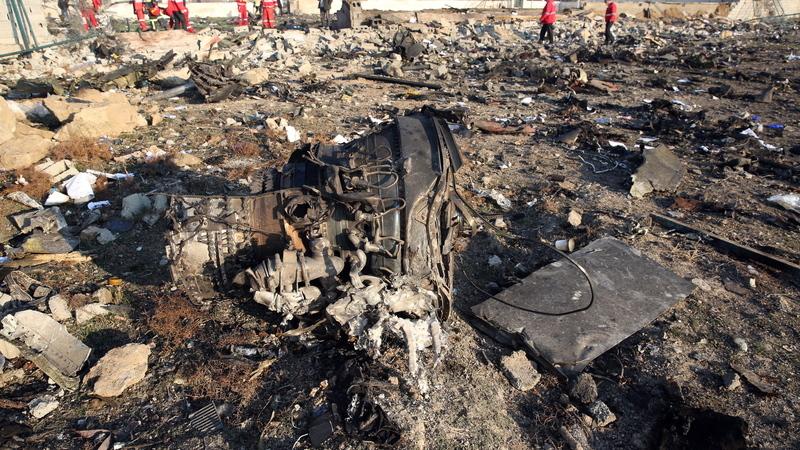 Teerão vai enviar caixa negra do avião abatido para a Ucrânia