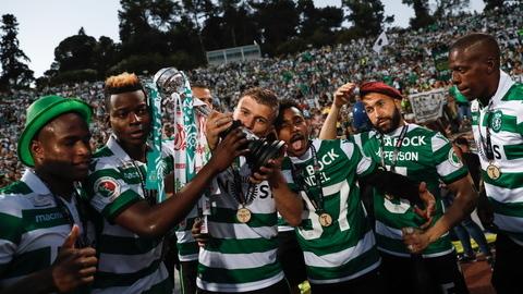 A festa do Sporting e a desilusão do FC Porto em imagens