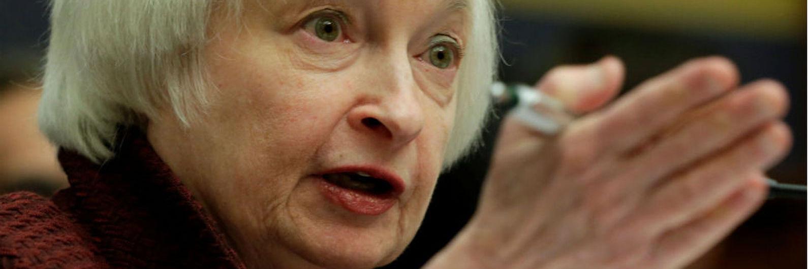 Yellen diz que os bancos estão mais fortes e que não espera de assistir a nova crise financeira