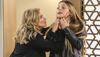 Em breve em 'Paixão': Helena ameaça Carolina de morte