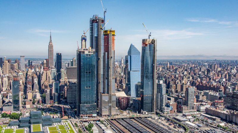 Hudson Yards: Investimento de 25 mil milhões de dólares constrói novo bairro em Nova Iorque