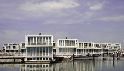 As engenhosas cidades flutuantes dos Países Baixos