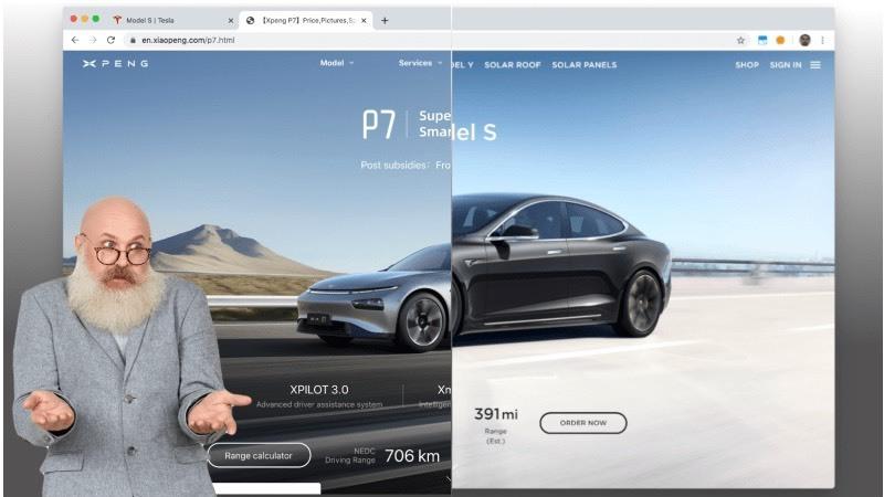 Xpeng: A empresa chinesa que até o site da Tesla copiou
