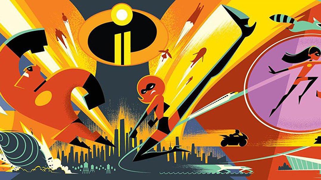 """""""The Incredibles 2: Os Super-Heróis"""": Trailer é o mais visto de sempre em animação"""